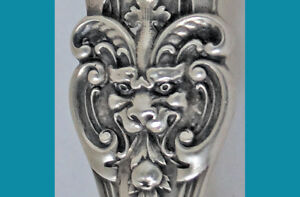 8 1 4 Sterling Scoop Henry Ii Pattern Devil Face Gorham For Shreve Crump