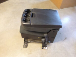 Chevy Silverado Gm Sierra Jump Seat Center Console Blk Oem 07 13 Black Cloth