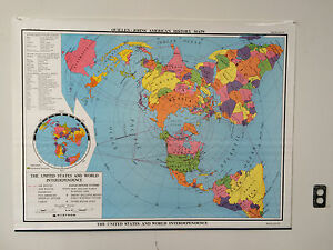 Nystrom Quillen Johns Old School Map The United States World Interdependence