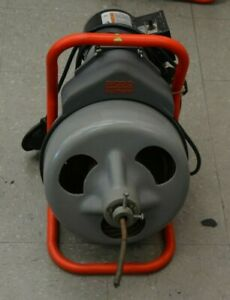 Ridgid Kollmann K 375 75 100 Commercial Electric Drum Drain Snake Pedal Pickup