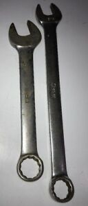 Snap On Lot Of Two Combo Wrench Oex18b 9 16 And Oex 200 Usa