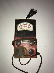 Vintage Sun Tach Dwell Tester tdt 5 Sun Electronics Sold Not Working