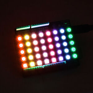 Keyestudio Sk6812 Led Rgb Dot Matrix Display Shield Diy For Arduino Neopixel