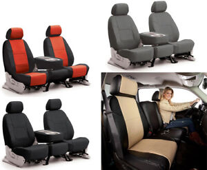 Coverking Synthetic Leather Custom Seat Covers For Kia Forte