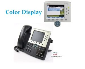 Cisco Unified Ip Phone 7965g Color Display Cp 7965g V11