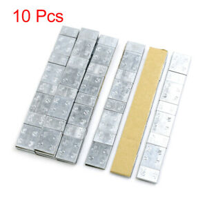 2 1oz Adhesive Back Wheel Balance Weights Strips For Motorcycle 136 X 19mm 10pcs