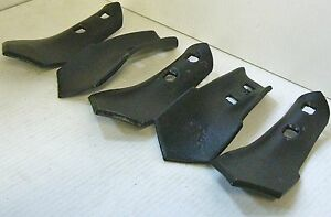 S Tine Sweep 2 Hole 2 3 4 Wide 7 16 Holes 1 4 Thick Cultivator Set Of 5