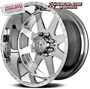 American Force Independence Ss8 Polished 20 X10 Wheels Rims 8 Lug Set Of 4 New