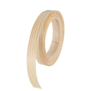 Pine White Wood Veneer Edgebanding Edge Banding Tape Pre glued 7 8 X 25