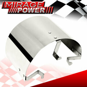 2 5 4 Cone Filter Air Intake Heat Sheild Cover Stainless Steel Universal