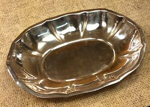 Vintage Antique Ezada Isreal 800 Sterling Silver Bowl Dish