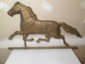 Antique Harris Horse Weathervane Copper