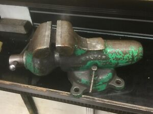 Wilton Bullet 4 1 2 Jaw Machinist Bench Vise 945 Awesome Condition 1951