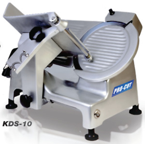 New 10 Meat Cheese Deli Slicer Pro cut Kds 10 9905 127v Electric 1 3 Hp Nsf