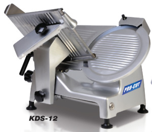 New 12 Meat Cheese Deli Slicer Pro cut Kds 12 9906 120v Electric 1 3 Hp Nsf