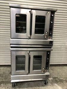 Double Stack Gas Convection Oven Montague Vectaire 115a 9987 Commercial Bake