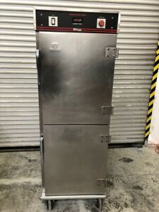 Heated Pass Through Warming Holding Cabinet Full Sheet Hot Box Bevles 9992 Nsf
