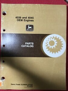 Pristine Vintage Original Auth John Deere Oem Engine Parts Repair Catalog Pc2305