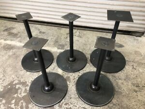 18 Round Table Bases Heavy Duty 28 Tall 5 Pack 1002 Restaurant Dining