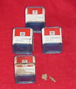 Nos Delco 62 63 64 65 66 67 68 69 Corvette Generator Junction Terminal Fuse 4 Pc