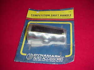 Vintage Nos Shift Shifter Polished Aluminum T Handle Hurst Chevy Ford Dodge Amc