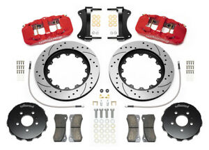 Wilwood Aero6 Front Big Brake Kit fits Audi A4 a5 s4 s5 6 Piston 15 Drilled Rot