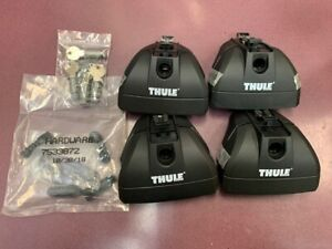 Thule 460r Rapid Podium Foot Pack Plus Locks And Keys