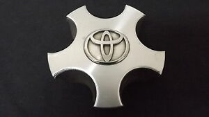 Toyota Camry Avalon Solara Oem Wheel Center Cap Machined Finish Chrome Logo