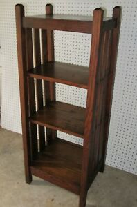 Arts Crafts Book Shelf