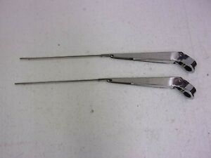 Windshield Wiper Arms Stainless New 67 69 Camaro 64 77 A Body Mp138