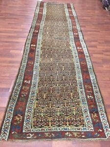 Antique Persian Kurd Bidjar Runner