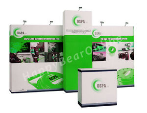 Trade Show Fabric Display Exhibition Booth A1 20ft graphics Included