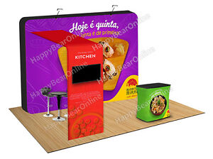 Trade Show A15 Display Pop up Booth 10ft 10x10 Exhibition Booth