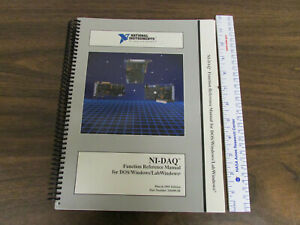National Instruments Ni daq Function Reference Manual For Dos windows labview 19