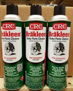 3 Pack Crc 5088 Brakleen Brake Parts Cleaner 14oz Nonchlorinated Free Shipping