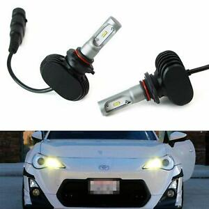 Yellow 50w 9005 Led High Beam Daytime Lights For 13 Scion Fr s Subaru Wrx sti