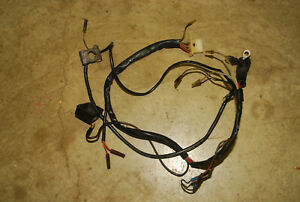 Kubota B5100 Z500 Tractor Engine Parts Wiring Harness Battery Cable