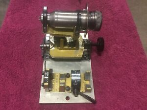 Nice Darex M3 Precision Drill Bit Sharpening Attachment W Chuck Mandrel
