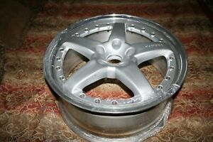 One Front 19 Hamann Pg2 Bmw Oz Wheel Rare M3 E46 19x8 5 35