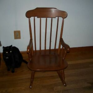 Child Rocking Chair Natural Wooden Maybe Ethan Allen Local Pickup Only