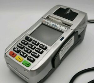 First Data Fd130 credit Card Reader Terminal W Power Supply