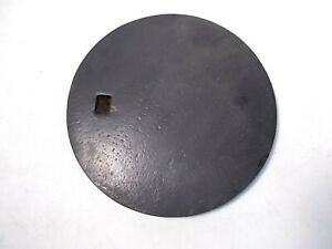 Antique Cast Iron Wood Stove Cover Lid Marked Star Kineo 8