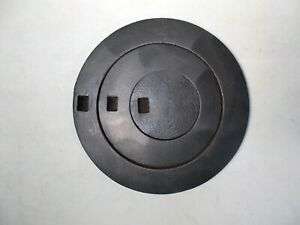 Antique Cast Iron Wood Stove Three Ring Cover Lid Marked 7 8 On Back