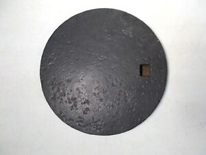 Antique Cast Iron Wood Stove Cover Lid Marked B S And More On Back See Photos