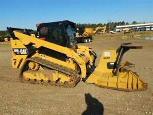 2018 Caterpillar 299d2 Xhp Track Skid Steer Loader Cat 299 299d