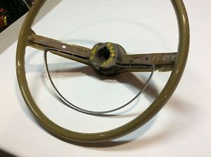 1968 Mustang Steering Wheel And Horn Ring Original 2 Spoke Nice Vintage