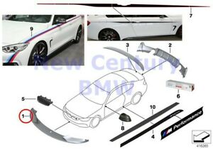 Bmw Genuine M Performance Accessories Front Attachment In Carbon M Performance F