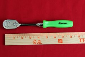 Snap On Tools Fhd80 Ratchet 3 8 Drive Hard Handle Green Dual 80 Brand New