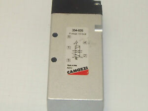 Camozzi 354 035 5 2 1 4 Bsp Pilot Operated Spring Return Valve 2 Position