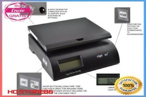 Electronic Postal scale Digital 75 Pound Capacity Shipping Packing Usps Mail Ne